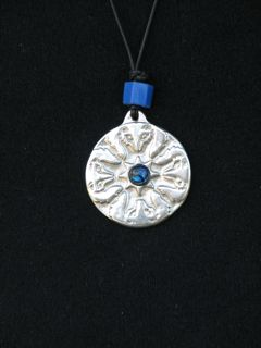 spirit talisman, bear design, pewter pendants