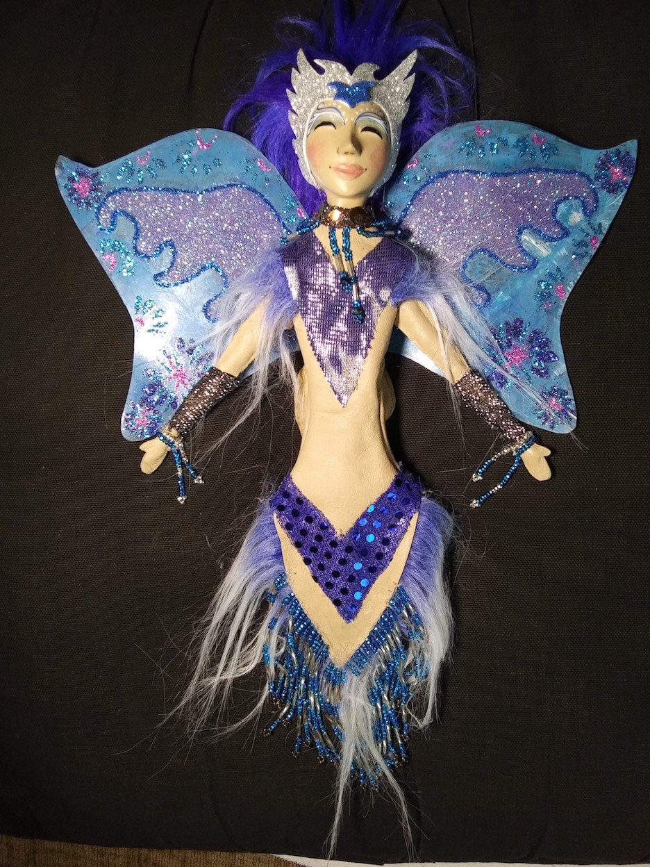 Fairies, cosmos, space fantasy, puppets, art dolls, talismans