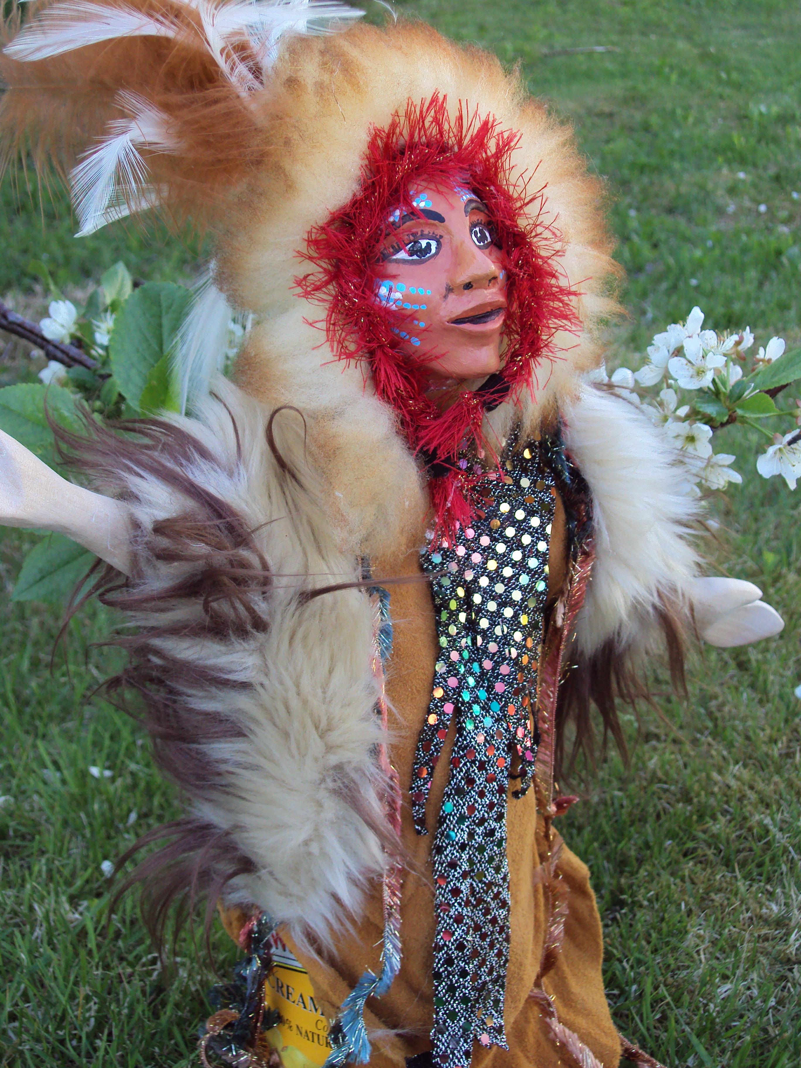 hand puppets, Alaskan Art, Tresham Gregg
