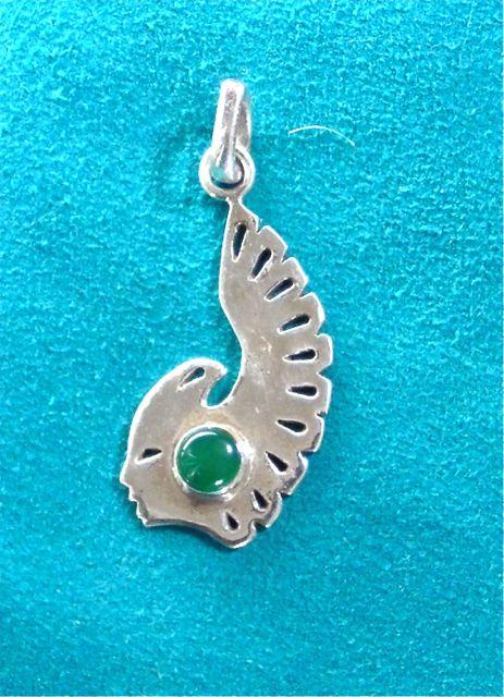 Eagles, talismanic jewelry, Alaskan Art, silver jewelry