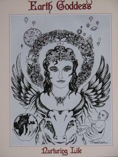 Goddesses, Earth, Goddess Types