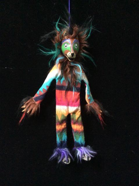 Foxes, puppets, marionettes, talismanic art, shaman spirit