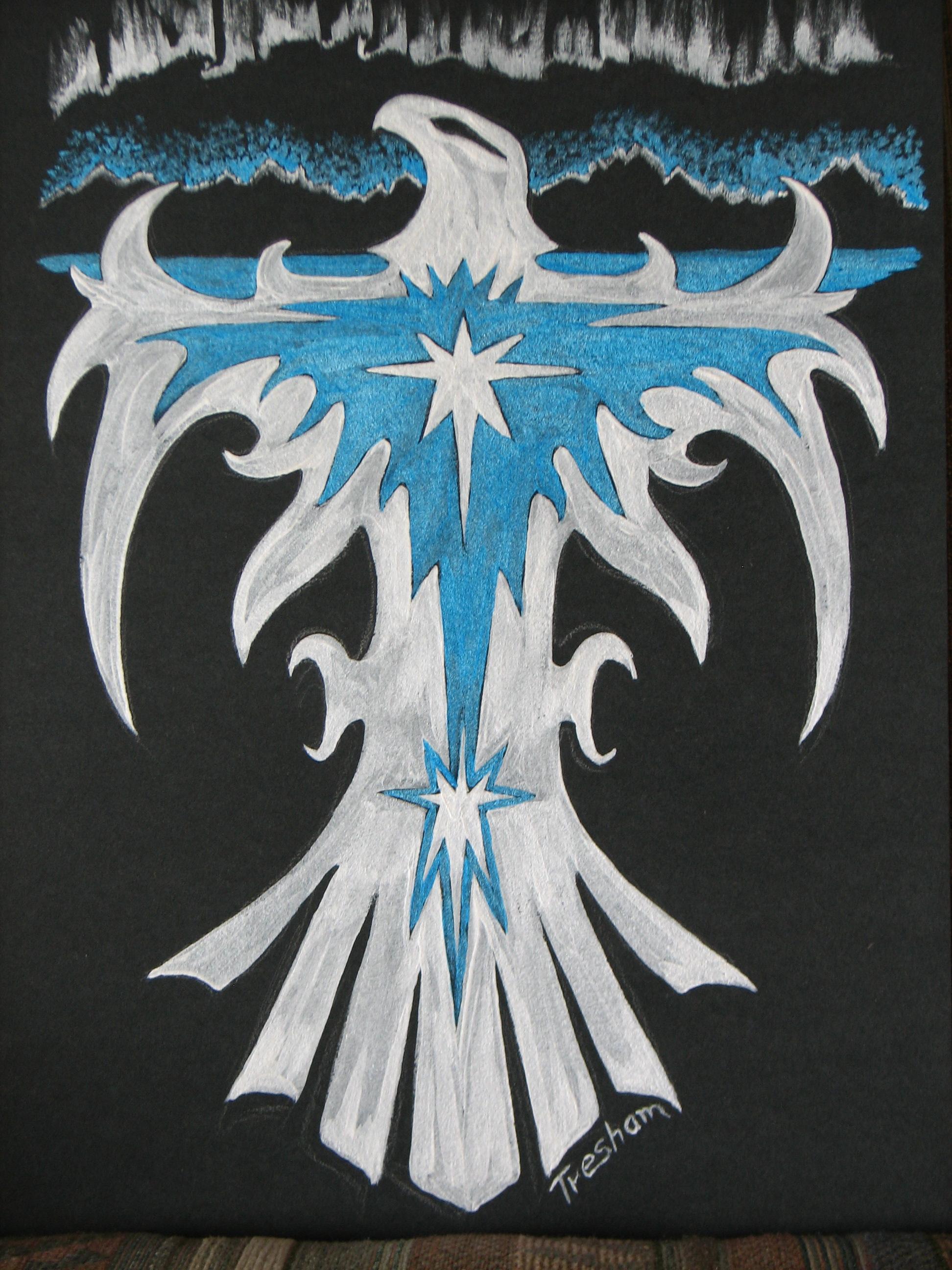 Alaskan Art, T-shirts, Eagles, Spirit, men's clothing