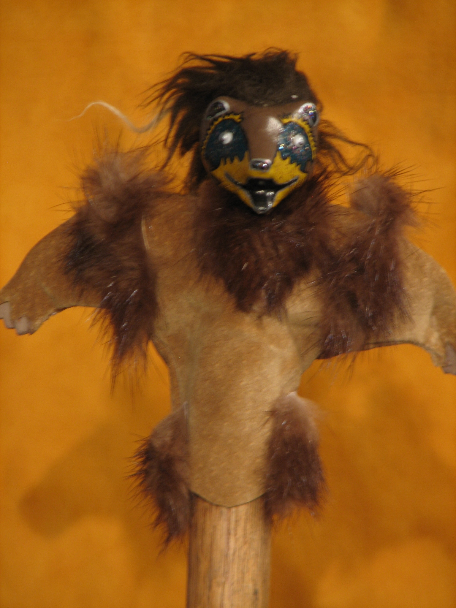Bear, puppeta, Alaskan Art