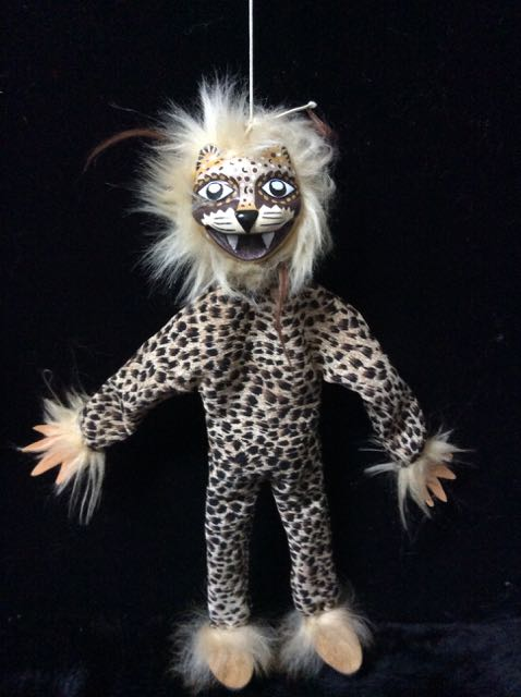Jaguars, puppets, marionettes, shaman spirit