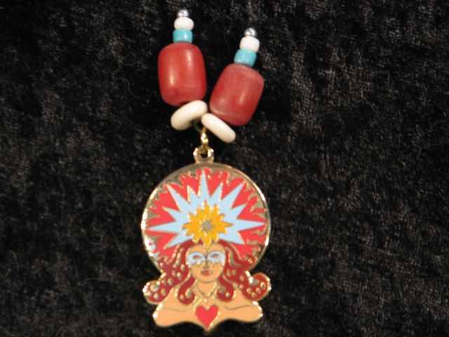 Talismanic Art, Goddess Jewelry, Sun Spirit, Mystic Art