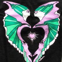Alaskan Art, T-shirts, Eagles and Ravens, Spirit, men's clothing,northern lights