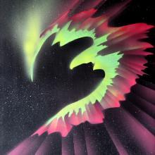 airbrush acrylic painting