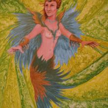 fantasy painting by Tresham