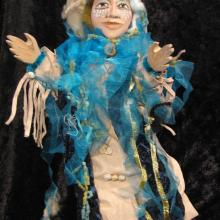 charming and provocative hand puppet