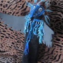 Raven, Puppet, Alaskan Art, Shamanic Art
