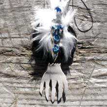 talismanic shaman art, Eagles, spirit helpers, Alaskan Art