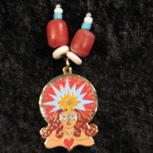 Talismanic Art, Goddess Jewelry, Sun Spirit, Mystic Art