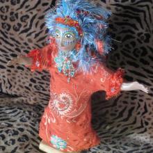 Goddess, Doll, Puppet, Alaskan Art, Mystic Art, Shamanism