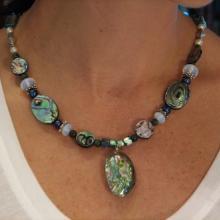 Abalone Shell Jewelry,  Alaskan Art,