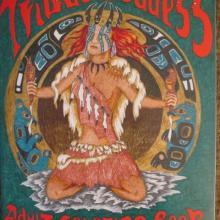 adult coloring book, Tribal Goddess, original drawings, Alaskan art, fantasy art, shamanic art, Goddesses